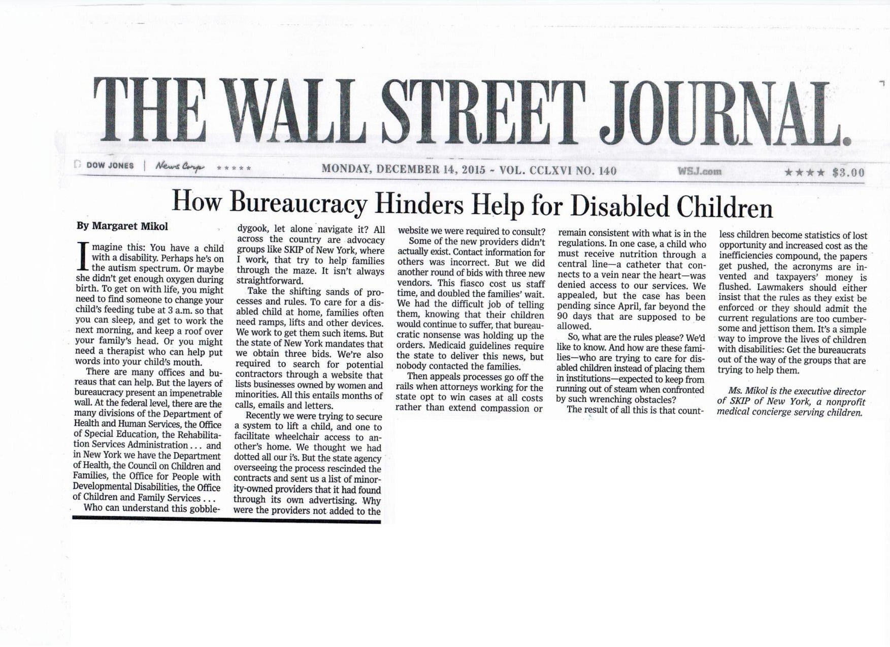 How Bureaucracy Hinders Help For Disabled Children
